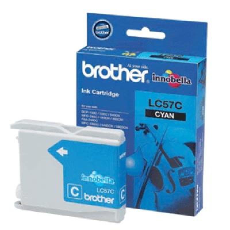 BROTHER LC57 CYAN INK CARTRIDGE