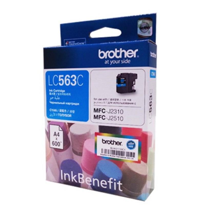 Brother Ink Cartridge, Cyan LC563C