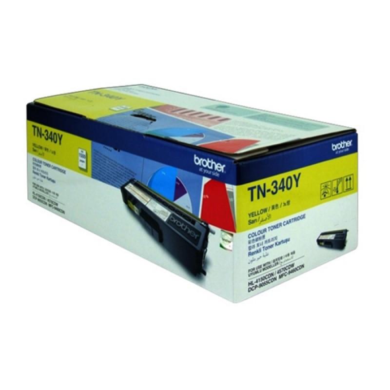 Brother Yellow Toner Cartridge TN340Y